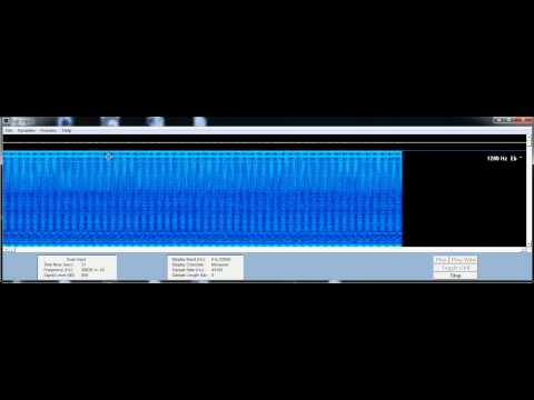 30.5.2012 00:46 ELF VLF HAARP radio Signals strange patterns freeware: SPECTROGRAM