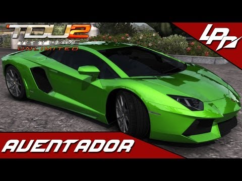 TEST DRIVE UNLIMITED 2 MODS: Lamborghini Aventador LP700-4