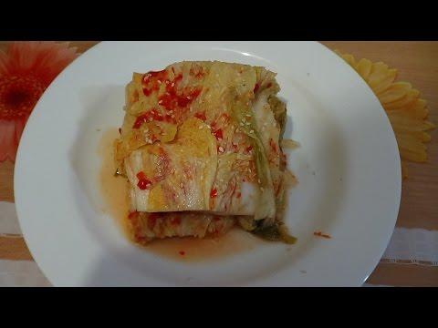 Пекинская капуста кимчи по-корейски