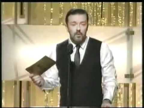 Ricky Gervais - Goes To Far? Golden Globes 2011