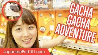 Capsule Toy Adventure: Gachapon in Akihabara