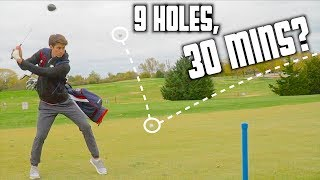How Fast Can I Play 9 Holes Of Golf? | GM GOLF