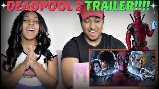 """Deadpool 2"" | The Trailer REACTION!!!"