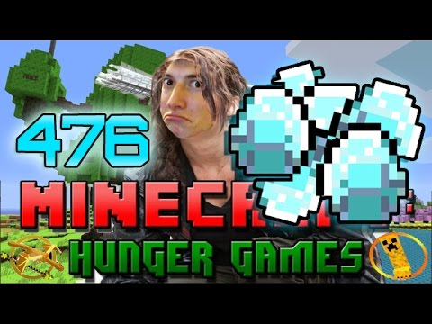 Minecraft: Hunger Games w Mitch Game 476 CRAZY DIAMONDS GAME