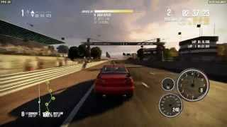 Need For Speed Shift 2 Unleashed - Mitsubishi Lancer Evo X Driving