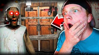 SURVIVING 5 NIGHTS WITH GRANNY! (MOBILE HORROR GAME!)