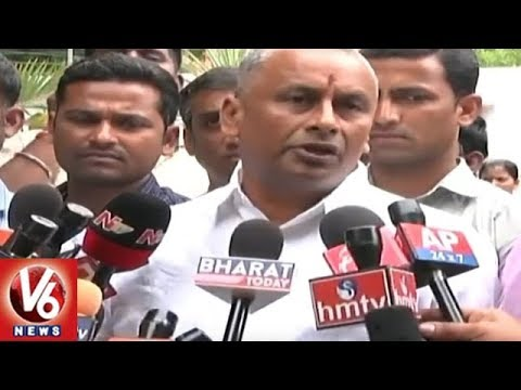 Hyderabad BJP Leaders Demands Govt For Criminal Case Against Kathi Mahesh | V6 News