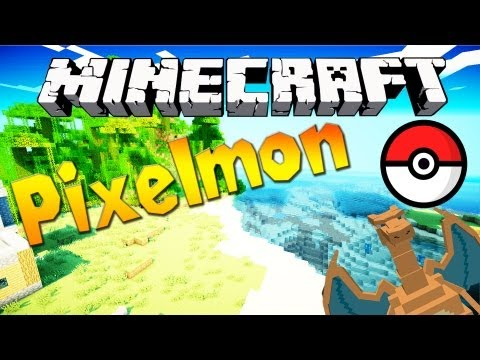 Minecraft 1.6.1 - Pixelmon Mod 1.5.2 - Pokemon in Minecraft