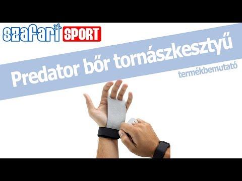 Predator bőr tenyérvédő termékbemutató videó