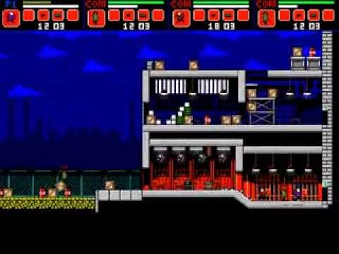 super fighters - hacked arcade games - YouTube