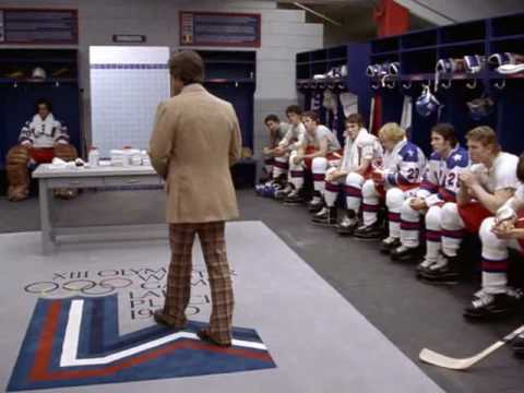 Miracle Speech - You Were Born For This - Herb Brooks, Movie: Miracle video