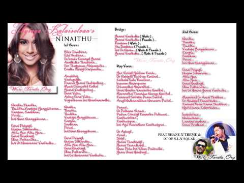 Ninaithu Lyrics ~ Official Music Video [2013] ~ (dead For Music) video