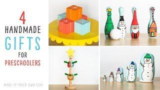 Handmade Christmas Gifts for Children
