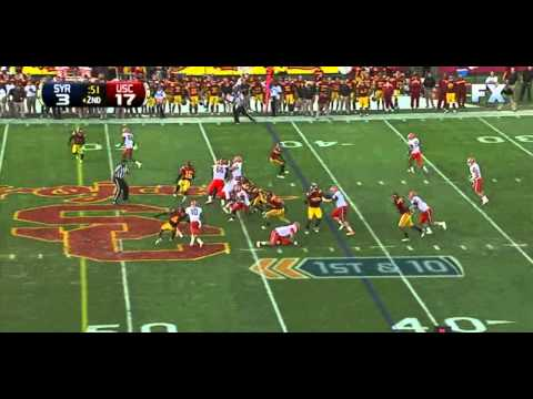 Justin Pugh and Ryan Nassib  vs USC 2011 