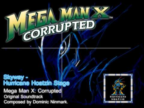 Mega Man X: Corrupted - Music Preview, Skyway (Hurricane Hoatzin Stage)