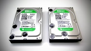 6TB of STORAGE! (Western Digital Caviar Green 3 TB Overview - UGPC 2012)