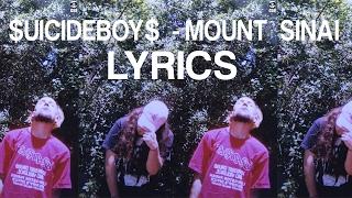 Suicideboys Mount Sinai