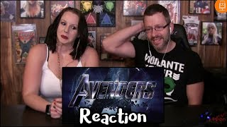 Avengers Endgame Trailer Reaction & Thoughts
