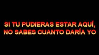 Si tu no estas aquí - Angeles del Infierno (Karaoke)