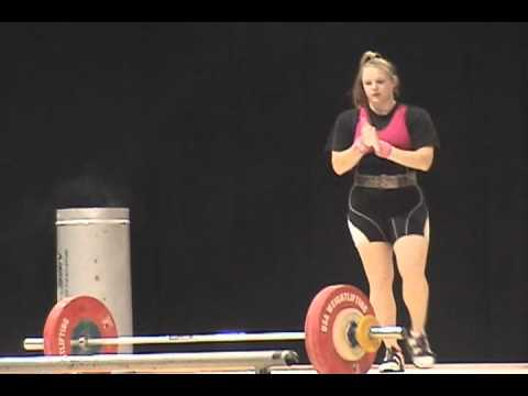 american open 2011  - womens 75 class   final snatch lifts Image 1