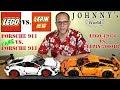 Lego® 42056 Porsche 911 vs Lepin 20001B Porsche 911 - ein direkter Vergleich Review in Deutsch