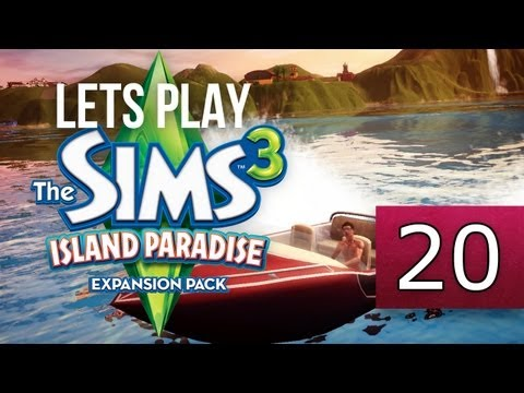 Let's Play: The Sims 3 Island Paradise - [Part 20] - Island Discovery