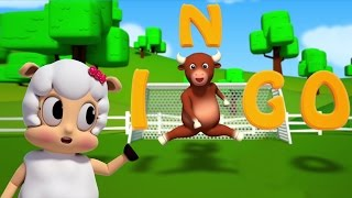 Bingo o cão | 3D rima de berçário | Kids Songs | Nursery Rhymes For Kids | Bingo The Dog