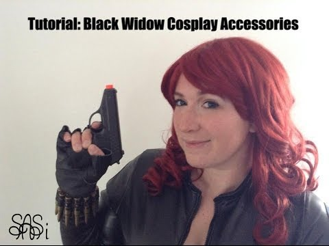 Tutorial: Black Widow Cosplay Accessories