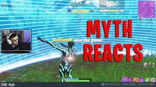 Dabbing on Myth after WINNING in Fortnite! (TSM Myth's Reaction)