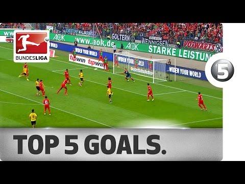 Top 5 Goals - Lewandowski, Mkhitaryan and More with Incredible Strikes