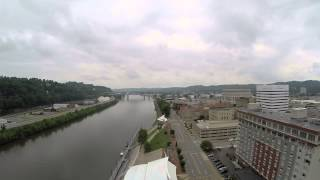Downtown Charleston, WV X350Pro/G-3D Gimbal