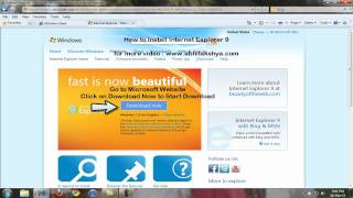 How to install Internet Explorer 9.mp4