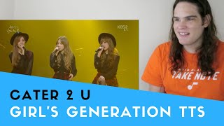 Voice Teacher Reacts to Girls' Generation-TTS - Cater 2 U