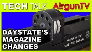 Daystate Air Rifle Magazine - CHANGES