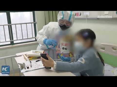 "Coronavirus fight: ""Nurse parents"" take care of coronavirus-infected children in Wuhan"