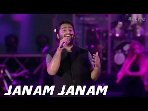 Janam Janam - MTV India Tour | Arijit Singh Live