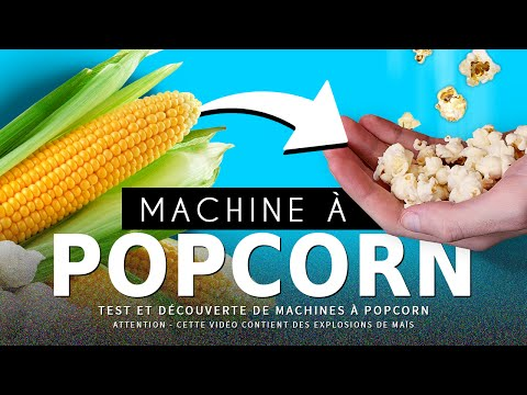 CRASH TEST : machines à POP-CORN