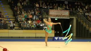 Berlin Masters 2015: Mehrkampf Band - Charlotte Fifis (NED)
