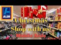 Aldi Christmas Shop with me! Whats in the middle aisle?!