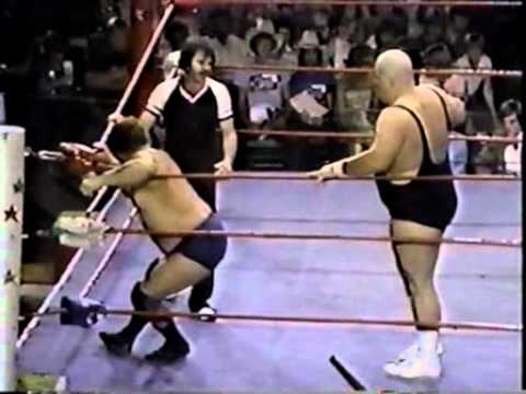 Harley Race vs. King Kong Bundy WCCW 8-15-82 Part 1