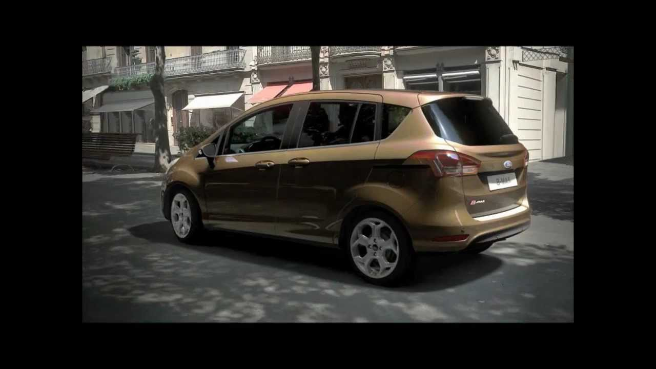 nouveau ford b max youtube. Black Bedroom Furniture Sets. Home Design Ideas