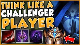 THINK LIKE A CHALLENGER PLAYER | BLUE KAYN SEASON 9 GAMEPLAY GUIDE - League of Legends