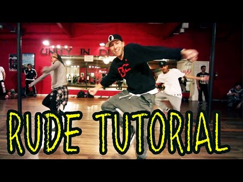 RUDE - MAGIC Dance TUTORIAL | Choreography by @MattSteffanina (@DanceVidsLIVE)