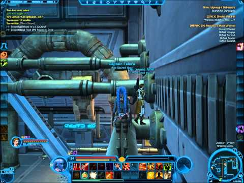 SWTOR Datacron Locations - Coruscant (Republic)