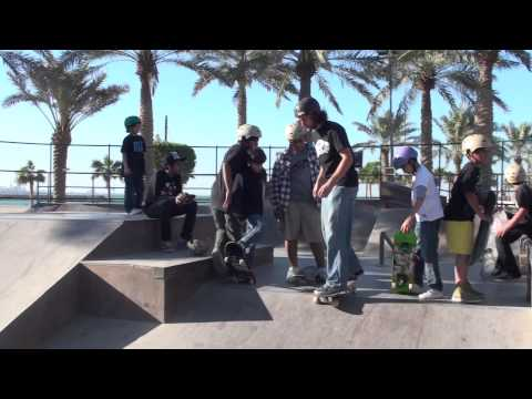 Skateboader Seth Levy Visits Kuwait October 21-24, 2011