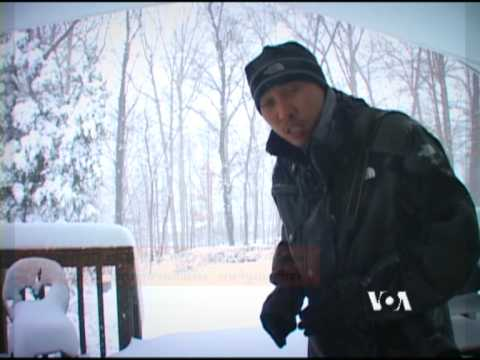 Snow Storm of the Century in Washington, DC 2009  (VOA Thai&TNN24)