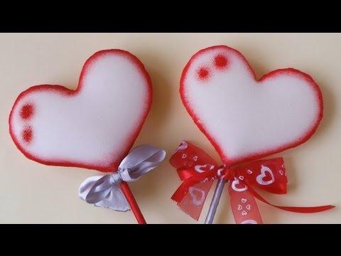 Recordatorio de foami para San Valentín - Imagui