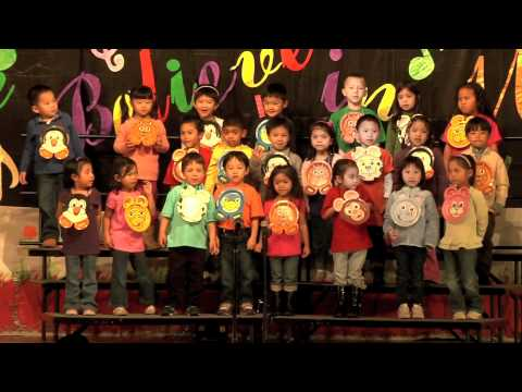 If I Were A Butterfly - Pre-K, St. John's the Baptist School, Milpitas, CA - 2011