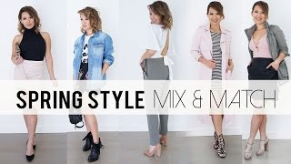Spring 2016 Mix & Match Outfit Ideas   Lookbook   ANN LE