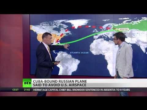 Cuba-bound jet detour sparks speculation Snowden on board